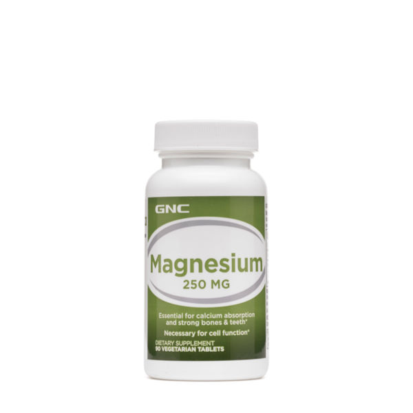 GNC-МАГНЕЗИЙ 250 мг 90 вег. таблетки